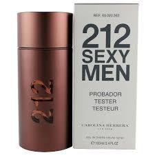 téster 212 Sexy Men Carolina Herrera  Eau de Toilette - Perfume Masculino 100 ML
