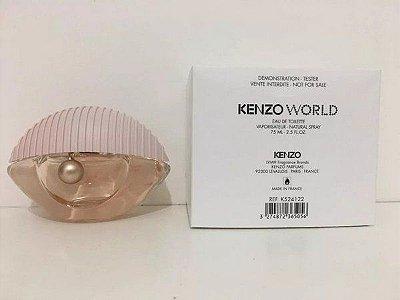 Tester Kenzo World Eau de Toilette - Perfume Feminino 75 ML