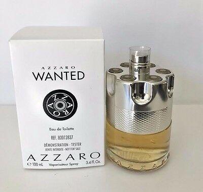 Tester Azzaro Wanted Eau de Toilette - Perfume Masculino 100 ML