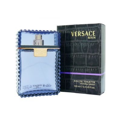 Miniatura Versace Man Eau de Toilette Versace - Perfume Masculino 5 ml