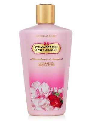 Loção Hidratante Strawberries & Champagne Victoria's Secret - 250 ml