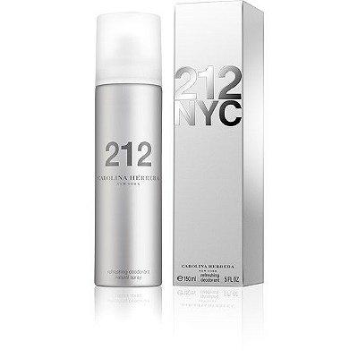 Desodorant  212 NYC Carolina Herrera - Desodorante Feminino 150ml