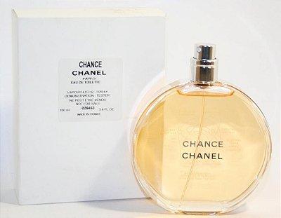 Tester Chance Eau de Toilette Chanel - Perfume Feminino 100 ml