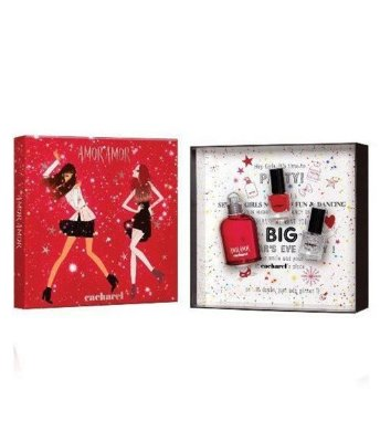 Kit Amor Amor Cacharel  - Eau de Toilette 50 ml + 2 Esmaltes de unha 5 ml cada