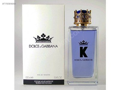 Tester Perfume Dolce & Gabbana K Eau de Toilette Masculino