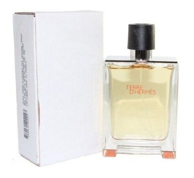 Tester Terre D'hermès eau de toilette - Perfume masculino 50 ml