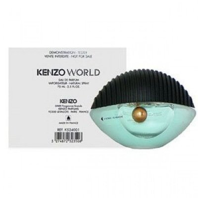 Tester Kenzo World Eau de Parfum - Perfume Feminino 75 ML