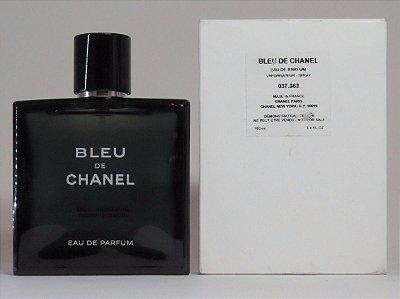 Téster Bleu de Chanel Eau de Parfum-  Perfume Masculino 100 ML