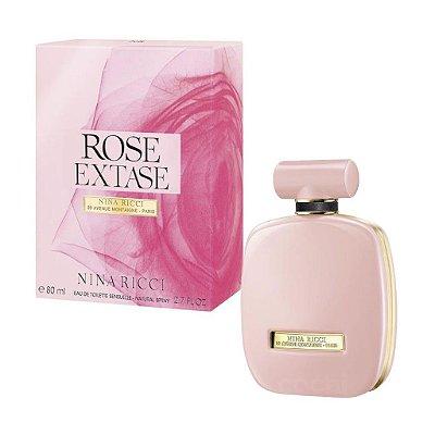 téster Rose Extase Nina Ricci Eau de Toilette - Perfume Feminino 80 ML