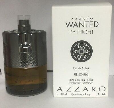 Tester Wanted by Night Azzaro Perfume Masculino - Eau de Parfum 100 ML