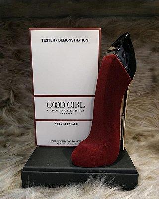 Tester Good Girl Collector Velvet Fatale  Eau de Parfum Carolina Herrera - Perfume Feminino 80 ml