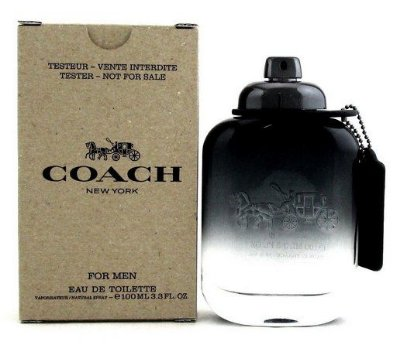 Tester Coach For Men Coach  Eau de Toilette - Perfume Masculino 100 ML