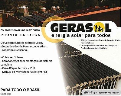 Coletor Solar da Baixo Custo