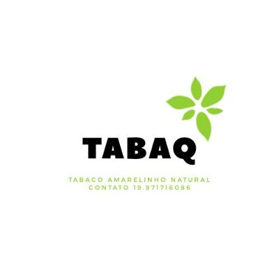 TABAQ Tabaco Natural Amarelinho