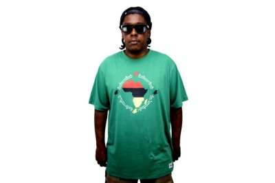 Camiseta África Verde