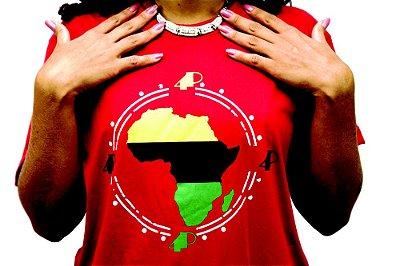 Camiseta África Vermelha