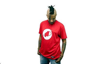 Camiseta Vermelha Manga Curta 4P