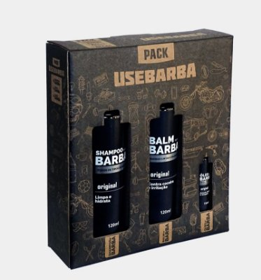 KIT PACK TRIO USEBARBA