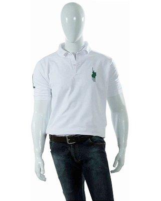Camisa Polo Style modelo Básica Branca