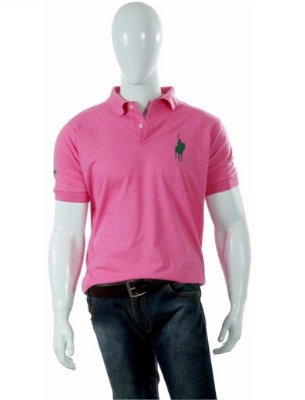 Camisa Polo Style modelo Básica Rosa