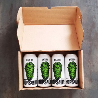 4-PACK - 2 HOPS4LIFE  LATA 473ML