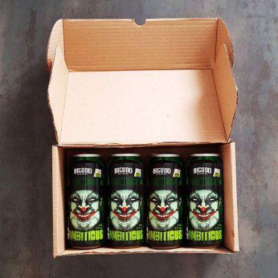 4-PACK - HAZY 4 AMBITIOUS - LATA 473ML