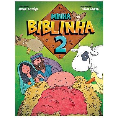 Livro Minha Biblinha 2 - David Araújo e Fábio Sgrói