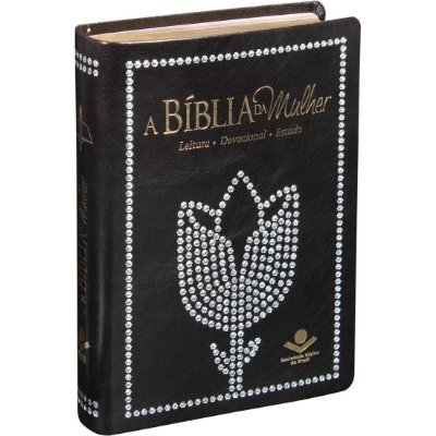 A BÍBLIA DA MULHER - ESTUDO - CAPA PRETA - SBB