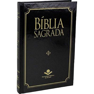 Bíblia Sagrada - MISSIONARIA - CAPA DURA - PRETA - ARC - SBB