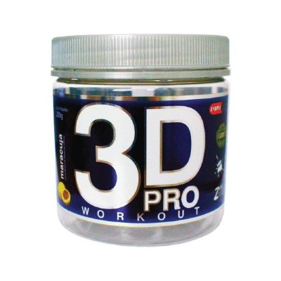 3D PRO WORKOUT 200G (POTE) PROCORPS - LIMÃO