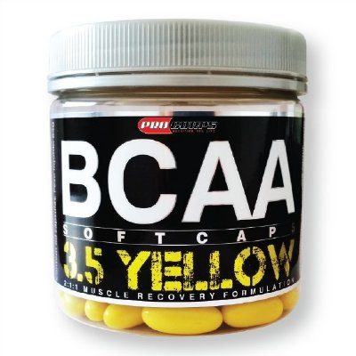 BCAA 3.5 YELLOW 120 SOFTCAPS - PROCORPS