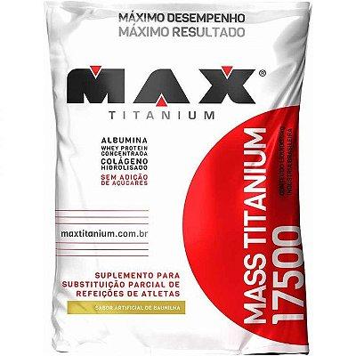 MASS TITANIUM 17500 3KG (REFIL) - MAX TITANIUM - BAUNILHA