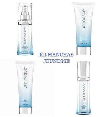 Kit Manchas Clareamento Rosto  Jeunesse  Tratamento Dermocosméticos  (4 Produtos)