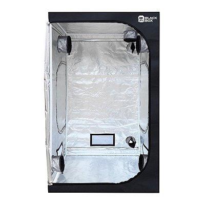 Estufa Cultivo Indoor  BLACKBOX 120x120x200cm com Revestimento 600D  DIAMOND 98% de Reflexão