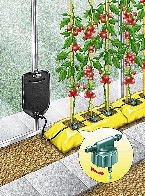 Sistema de Rega por Gravidade BIG DRIPPA para 6 Plantas com Reservatório 10 Litros