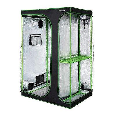 Estufa Agrícola Cultivo Indoor 2-em-1 VIVOSUN 120x90x180cm com Revestimento 600D e Mylar DIAMOND 98% de Reflexão