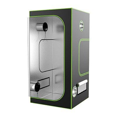 Estufa Cultivo Indoor SUPREMEBOX 80x80x180cm EXTRA SIZE com Revestimento 1680D DIAMOND 98% de Reflexão
