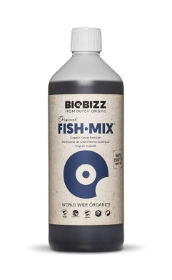 Fish-Mix Biobizz - Base Vegetativo 1-Parte opção 250ml, 500ml e 1L
