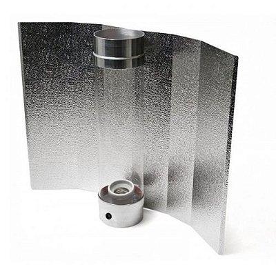 Cooltube Borossilicato com Refletor GROWPRO Asa de Morcego opção 125mm e 150mm