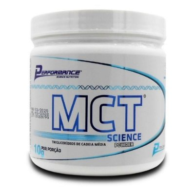 MCT (TCM) - Triglicerídeos de Cadeia Media Performance Nutrition 300g