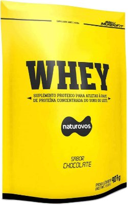 100% Whey Concentrado Naturovos 900g