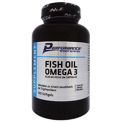 Omega 3 Fish Oil Performance Nutrition 100 Capsulas