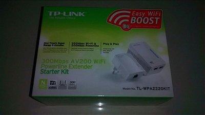 Adaptador de Rede Elétrica  TP-LINK 2220 Kit Power Line