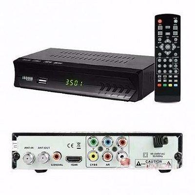 CONVERSOR DIGITAL DE TV SET TOP BOX HD C/ GRAVADOR