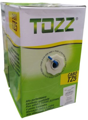 Cabo de Rede Tozz TZ5 Cat5e cx 305mts