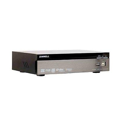 Conversor Digital para TV DTV/HDMI com Gravador ZP-605BT