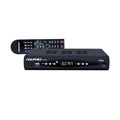 Conversor de Tv Digital e Gravador, Full HD DTV-8000 - Aquário
