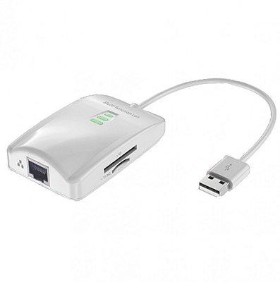 Cabo Adaptador Macbook USB Multi-Função LAN