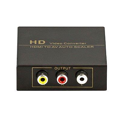 Conversor de Vídeo, Auto Scaler - HDMI para AV