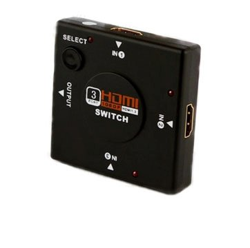 Switch HDMI 3 Entradas e 1 Saída